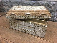 Vintage Salesman Sample Funeral Burial Vault, Display Funeral Home Mortuary g, Funeral Home Casket Coffin Vault, Oddity Burial Vaults, Funeral Caskets, Funeral Homes, Boy Meets, Vaulting, Coffin, Unique Vintage, Exterior Design, Decorative Boxes