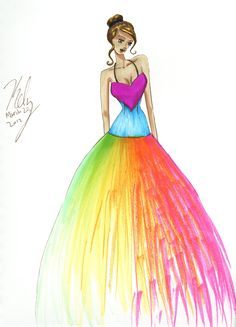 Fashion Illustrations On Pinterest Fashion Illustrations Fashion Designers And Pink Princess