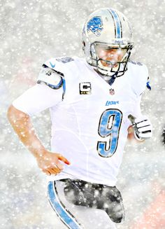 Detroit lions... QB. Matt Stafford