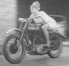female riders | Girl on an old motorcycle: Post your pics! - ADVrider