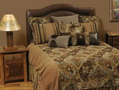 Rustic Home Decor | Chalet Luxury Bedding fit for the finest lodge!