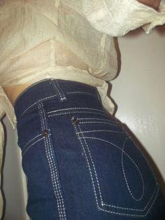 High Waisted Calvin Klein Jeans 8a19f0873e