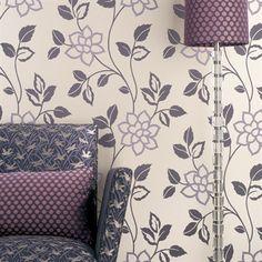d coration murale vintage des ann es 60 70 motif fleuri favorites years 60 and 70 pinterest. Black Bedroom Furniture Sets. Home Design Ideas