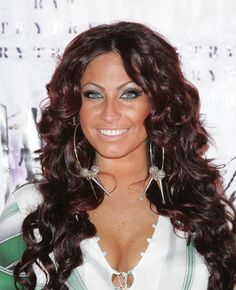 Tracy Dimarco...love her hair color and curls!