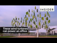 These wind turbines can power an office