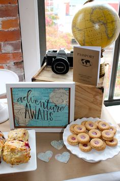 Adventure Awaits Bridal Shower - This Sweet Happy Life