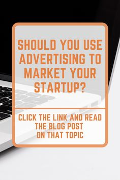 Should You Use Advertising To Market Your Startup? Business Marketing Strategies, Marketing Strategy Template, Sales And Marketing, Marketing Ideas, Online Marketing, Social Media Digital Marketing, Medical Technology, Energy Technology, Start Up Business