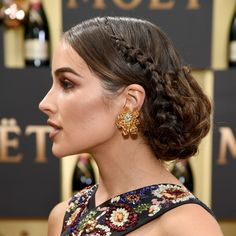 The Biggest Golden Globes Hair Trend Was All About Buns, Hon
