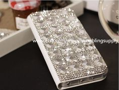 Bling Wallet Crystals iphone 4/4s/5/5s/5c by blingblingsupply, $28.99
