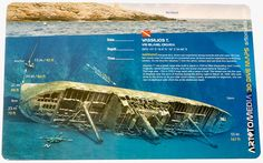 Art To Media Dive Map, Vassilios T. Vis Island, Croatia