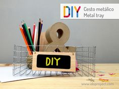 DIY metal tray