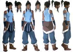 Resultado de imagen para korra character design