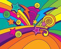 Big Bang Background!!! Royalty Free Stock Images