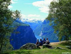 The lovely Geirangerfjord, easily considered the most beautiful fjord in the world, is a top attraction in Norway.