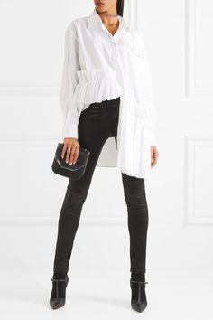Ann Demeulemeester | Satin skinny pants | NET-A-PORTER.COM