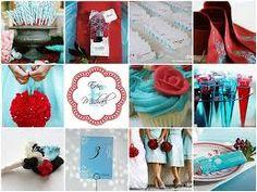 Summer wedding...beachy  colors!