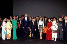 Foto oficial #Concierto inaugural Año Dual España-Japón con los Príncipes de Asturias y el Príncipe Naruhito