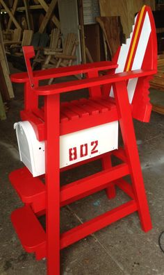 Wooden Lifeguard Chair Plans Woodworking Projects