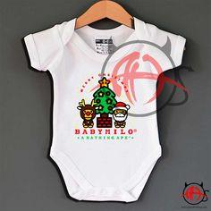 Toddler Humor, A Bathing Ape, Baby Onesie, Christmas Baby, Hoodies, Sweatshirts, Custom Shirts, Baby Gifts, Graphic Art