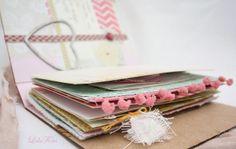 Diario handmade personalizado para el 2014 by La Sonrisa Creativa