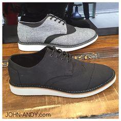 Men's Shoes, Dress Shoes, Brogues, Chambray, Toms, Oxford Shoes, Lace Up, Denim, Cotton