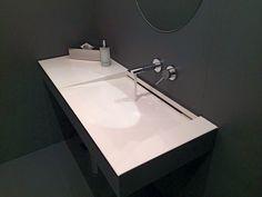 Lavello realizzato in #lapitec Bianco Polare #design #arredamento