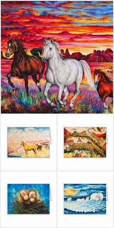 Collection of Greeting cards #kompas #art #animals #polarbears #horses #monkeys jaguars #orangutans #tigers #indians #zebras #elephants #dolphins #cheetah #leopard #chimpanzees #nature #wild #africa #greetingcards #products