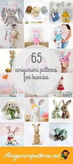 Amigurumi Patterns For Bunnies