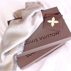 I have this Louis Vuitton Scarf.... And I love it!