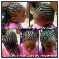 Cornrows for young girls