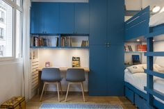 88m² - Paris 17e aménagé et décoré par la décoratrice d'intérieur Vanessa Faivre