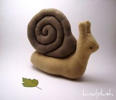 Eduardo the Snail - I like this it's more realistic than cartoony, but not tooo realistic...