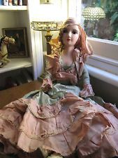 Roaring 20s Composition Boudoir Bed Doll