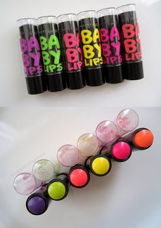 - Make Up 2019 Baby Lips Maybelline, Baby Lips Collection, Makeup Collection, Chapstick Lip Balm, Natural Lip Balm, Glossy Lips, Lip Care, Lip Colors, Lipstick Colors