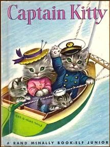 Captain Kitty - all the storybooks I loved as a kid featuring cats in clothing!