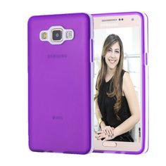 Capa para Celular Samsung Galaxy A5 Translucida Colorida com incrível Bumper que transforma esta capinha case em um incrível acessório para seu smartphone Samsung A5