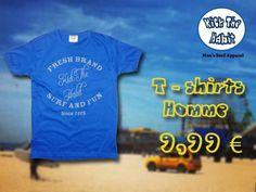 T-shirts homme coupe ajustée. 100% coton Confortable Idéal pour les freestylers www.kickthehabit-online.com