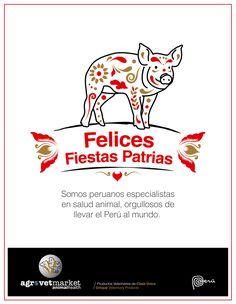 Felices Fiestas Patrias a todos los peruanos en el Perú y en el mundo - 28 de julio.