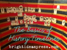 The Basics of History Timelines by @Bright Ideas Press  http://brightideaspress.com/2013/01/timelines/#