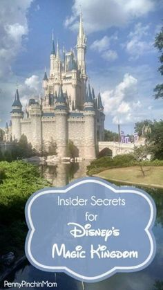 Before you plan your trip to Disney's Magic Kingdom, you will want to read these INSIDER tips to get the most out of your visit!!