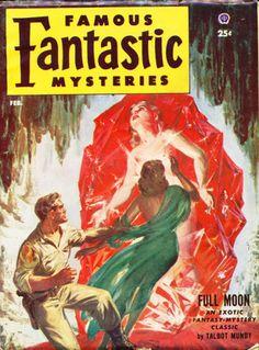 Norman Saunders, Famous Fantastic Mysteries 53-02.