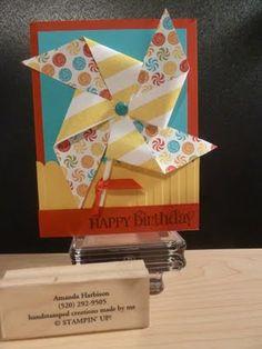 Pinwheel card!