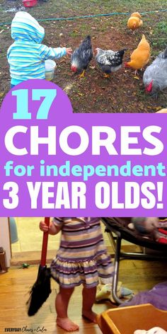 Parenting: Your 2 or 3 year old is more capable than you think. Here are 17 chores your 3 year old can do independently! You are in the right place about Montessori Activities wood Here we offer you t 3 5 Year Old Activities, Crafts For 3 Year Olds, Toddler Learning Activities, Montessori Activities, Fun Learning, Summer Activities, Discipline 3 Year Old, Kids And Parenting, Parenting Tips
