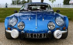 Renault Alpine A110 front