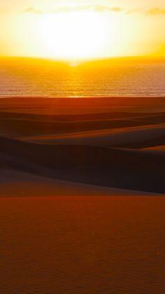 #Travel #Namibia #Desert #Dunes #Sunset