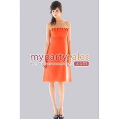 i dont really like the strapless but this orange