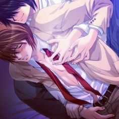 Yagami Light & L | Death Note #anime #yaoi