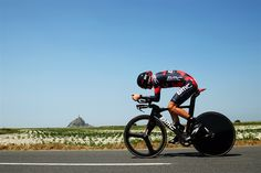 Tejay Van Garderen 2013 Tour de France, a 33KM Individual Time Trial from Avranches to Mont-Saint-Michel