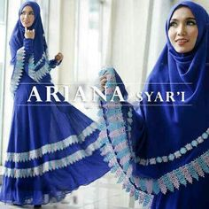 Ariana syari blue @121rb Seri isi 2, bhn cerruty import+full furing mix renda, busui sleting, ld102 Pjg140, m+bergo 2 layer, high quality, close 19 feb, ready april ¤ Order By : BB : 2951A21E CALL : 081234284739 SMS : 082245025275 WA : 089662165803 ¤ Check Collection ¤ FB : Vanice Cloething Twitter : @VaniceCloething Instagram : Vanice Cloe