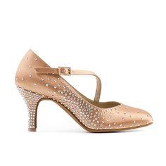 DECOLLETE' CARNE 1087_70/3, danze standard ----- FLESH COURT 1087_70/3, standard dancing ----- #Paoul #danceshoes #dancingshoes #dance #shoes #womenshoes #standardancing #danzestandard